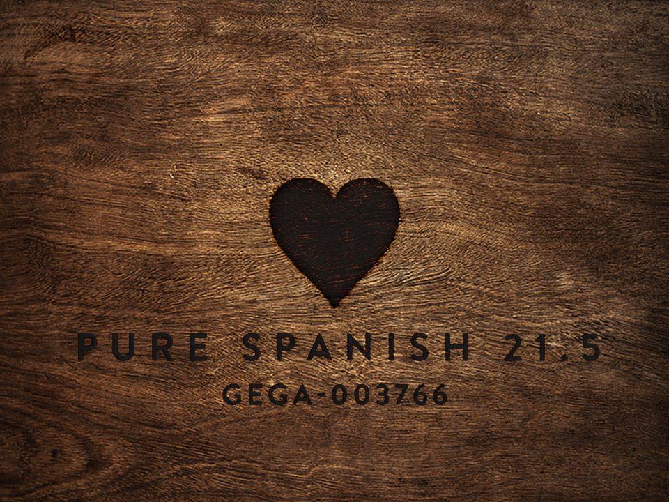 Pure Spanish 21.5 GEGA-003766 wood block