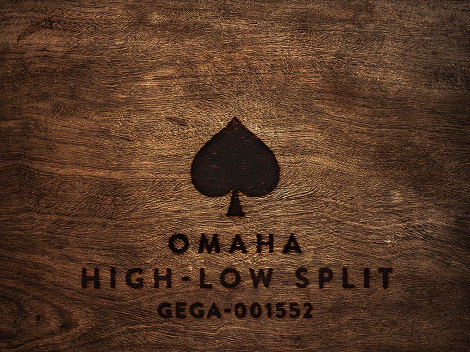 Omaha High-Low Split GEGA-001552 wood square